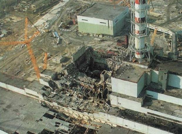 Η καταστροφή του Τσερνόμπιλ