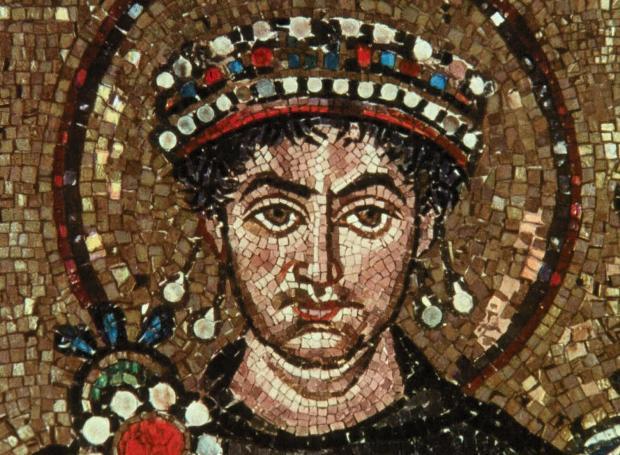 Ο Αυτοκράτορας Ιουστινιανός