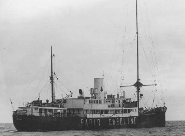 Η ιστορία του Ράδιο Καρολίνα (Radio Caroline)